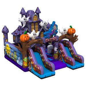 Dmuchany Plac Zabaw Domek Halloween